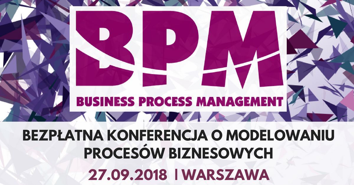 Konferencja Business Process Management – BPM Gigacon